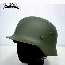 Deutsch MOD M35 Helm Luftwaffe Stahl Helm OD Tactical Helm Airsoft Helm