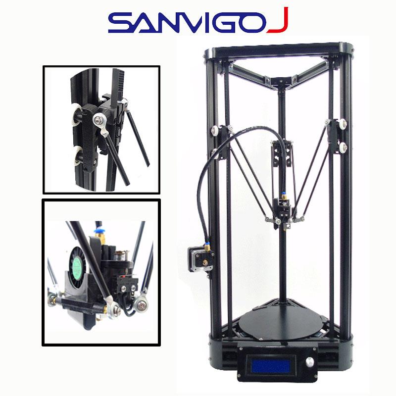 3D Imprimante Poulie 3 DPrinting 0.4mm Buse 3D DIY Kit pla ABS bois