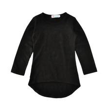 Baby girl dress black casual dress infant kids girls dress long sleeve toddler dresses cotton fashion