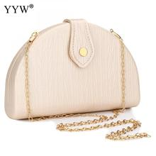YYW Half Round Clutch Bag Fashion Women Evening Party Shoulder Designer Wedding Handbag And Purse Large Bolsa Feminina
