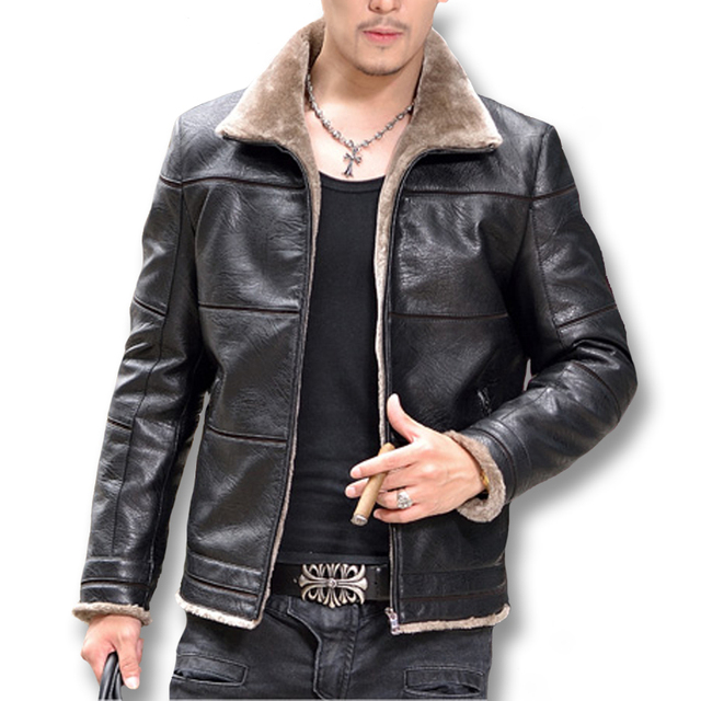 2016 Giacca Pelle Uomo Jaqueta De Couro Masculina Jackets Coast Men's Casual Fashion Slim Fit Motorcycle Leather Jackets M-5XL