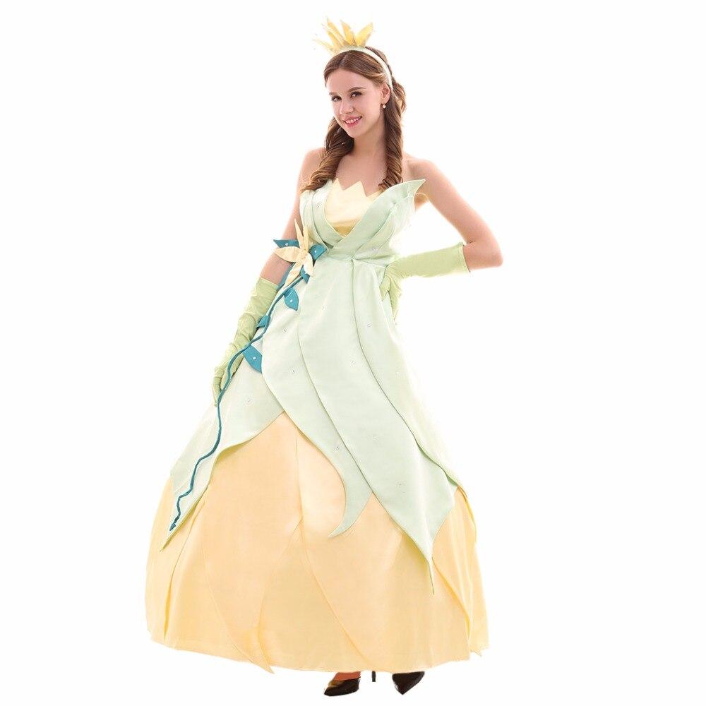Princess Tiana Dress: Cosplaydiy Custom Made Tiana Princess Dress The Princess