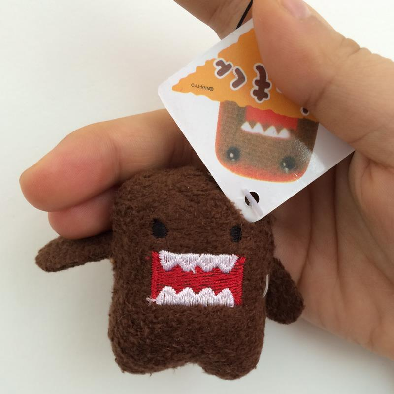 50Pcs/set DOMO KUN Plush toys 5cm mini Phone Charm Bags Keychains Pendant Domokun Lanyard doll kawaii Domo-kun toys Wholesale african american braided hair wig black deep wave braiding hair synthetic lace front wig for black women kanekalon braided wig