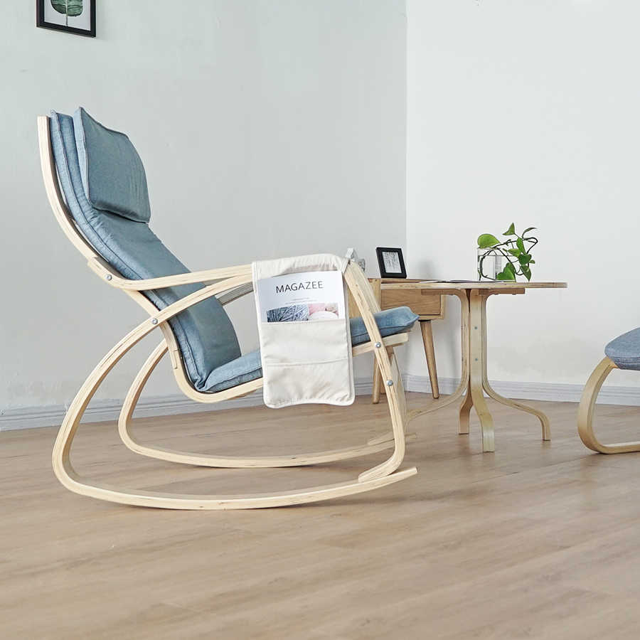 Wondrous Nordic Rocking Chair Lazy Couch Balcony Chair Lounge Chair Pregnant Woman Recliner Adult Home Arm Chair Caraccident5 Cool Chair Designs And Ideas Caraccident5Info