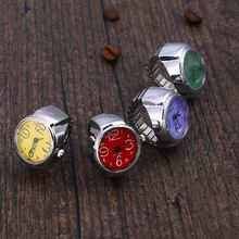 Unisex Ring Watch Creative Elastic Stainless Steel Finger Wa