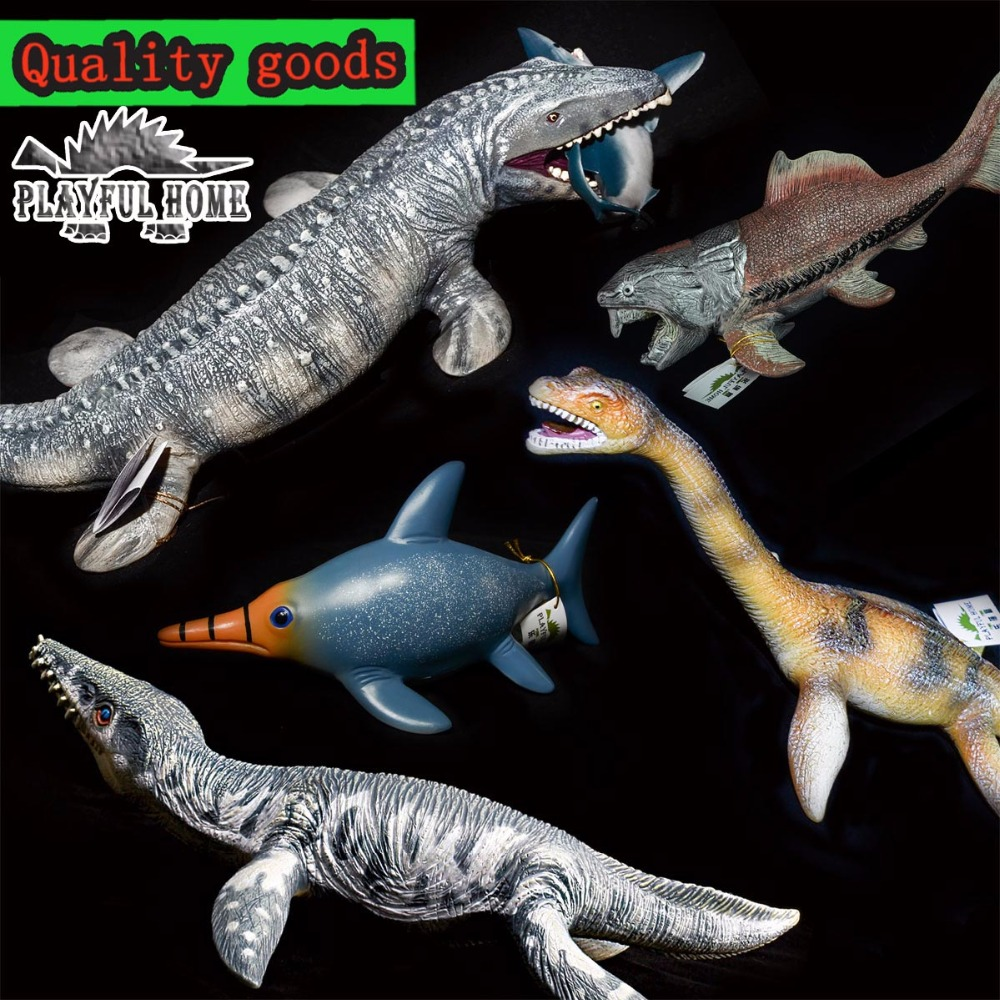Large Good Dinosaur Mosasaurs 3D Models Soft PVC Ocean Sea Lifes Animals Action Figures Toys For Adult Children Kids Collection patrulla canina with shield brinquedos 6pcs set 6cm patrulha canina patrol puppy dog pvc action figures juguetes kids hot toys