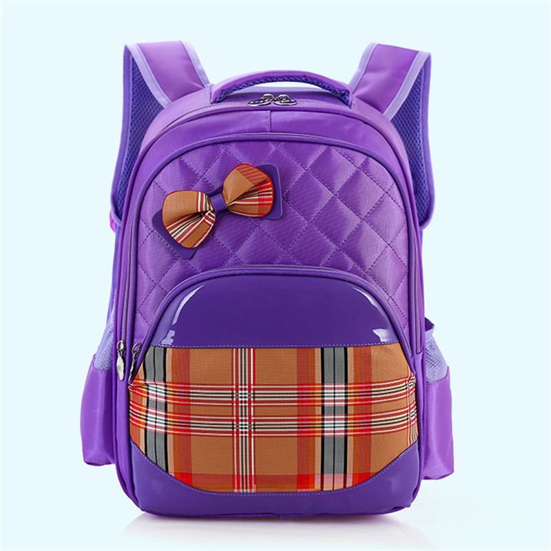Cute Girls Backpacks Fashion Orthopedic Children Primary School Students Bags Pink Kids Backpack Waterproof Bow School Backpack 2016 time limited sale school bags orthopedic backpack kids elementary schoolbag children ergonomic primary nylon boy backpacks