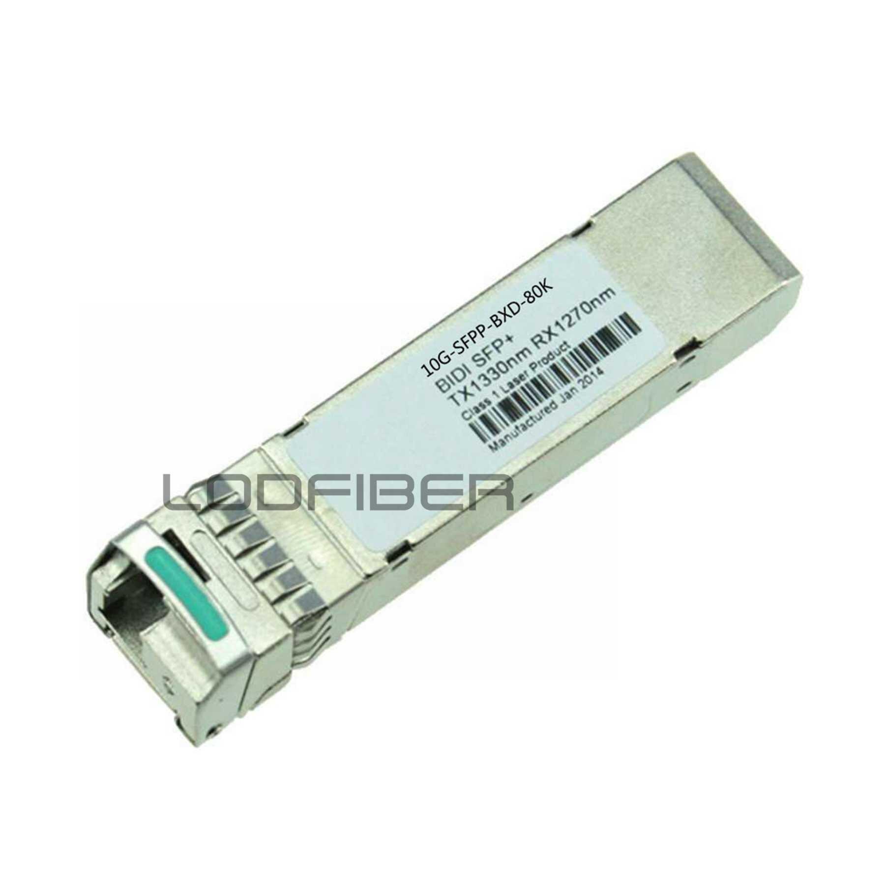 CISCO Compatible SFP-10G-BX80-U//SFP-10G-BX80-D Pair of SFP 10G 80km Transceiver