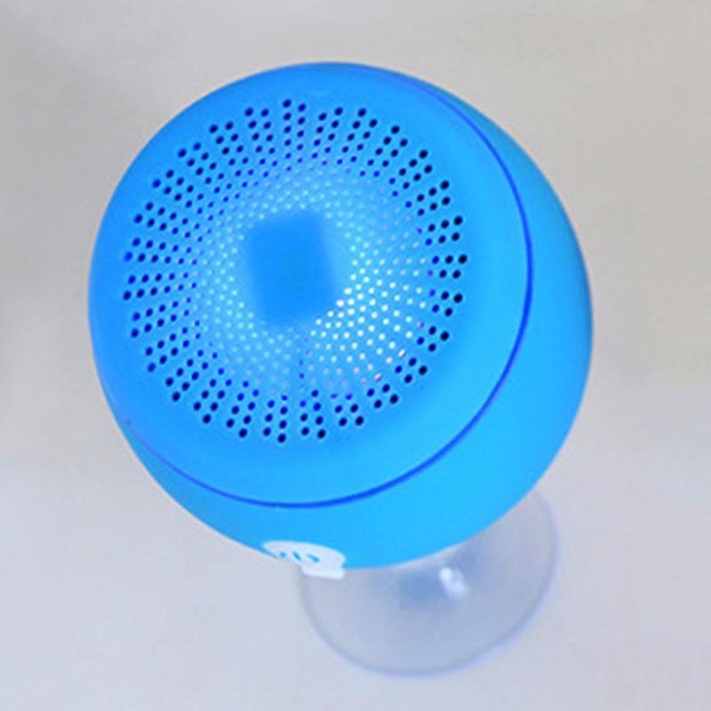 Speakers Hot Sale New Floating Speaker Led Light Portable Bluetooth Speaker For Pool Bath Spa Shower Speakers With Bottom Sucker