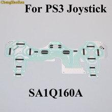 ChengHaoRan 4PCS Conductive Film Circuit Board PCB Ribbon for Sony PS3 Joystick Flex Cable SA1Q160A Repalr parts SA1Q159A