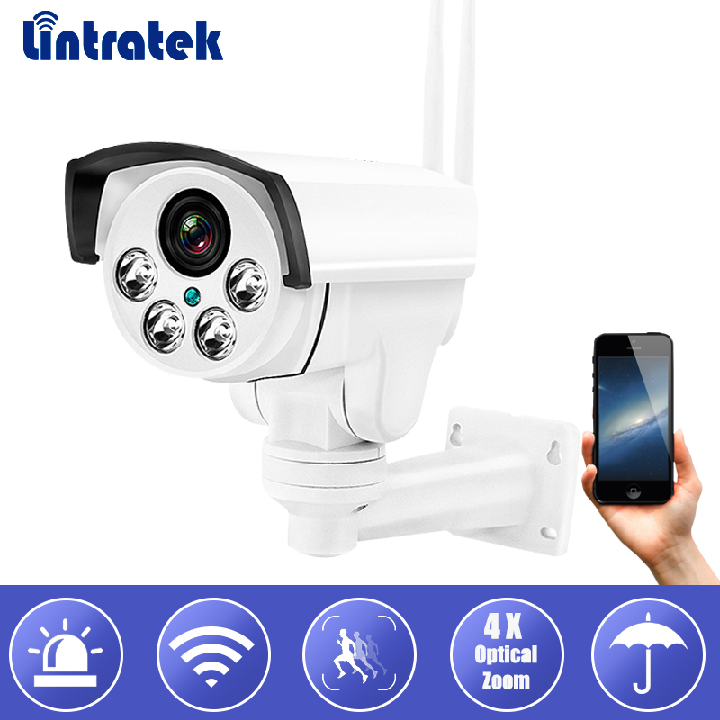 Wireless IP Bullet CCTV Security Camera 960P 4X Optical Zoom Surveillance Wifi CCTV Camera IP65 Waterproof Outdoor Camara seven promise 720p bullet ip camera wifi 1 0mp motion detection outdoor waterproof mini white cctv surveillance security cctv
