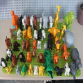 50pcs/lot Duplo Animal Zoo Large Building Blocks Enlighten Child Toys Lion Giraffe Dinosaur Compatible LegoeINGl Brick Kids Gift