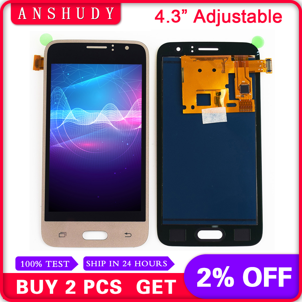 Adjustable For Samsung Galaxy J1 2016 J120F J120H J120M J120 LCD Display Panel Module + Touch Screen Digitizer Sensor AssemblyAdjustable For Samsung Galaxy J1 2016 J120F J120H J120M J120 LCD Display Panel Module + Touch Screen Digitizer Sensor Assembly