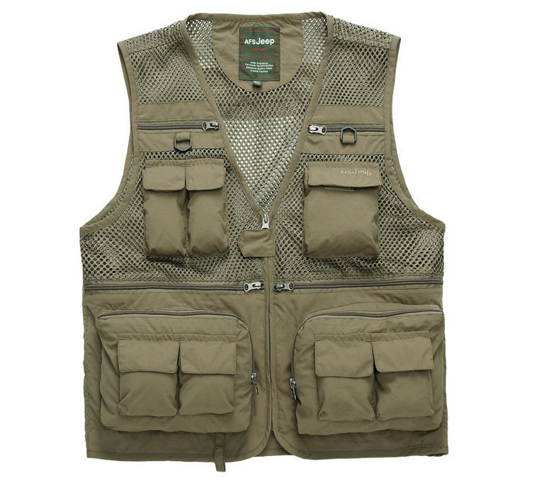 Just Military Mesh Vests Tactical Multi-pocket Army Style Combat Vest Outdoor Photography Sleeveless Jackets Men Cs Waistcoat Uniform Vests