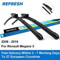 Wiper Blade For Renault Megane 3 24 16 Rubber Bracketless Windscreen Wiper Blades Wiper Blade Car