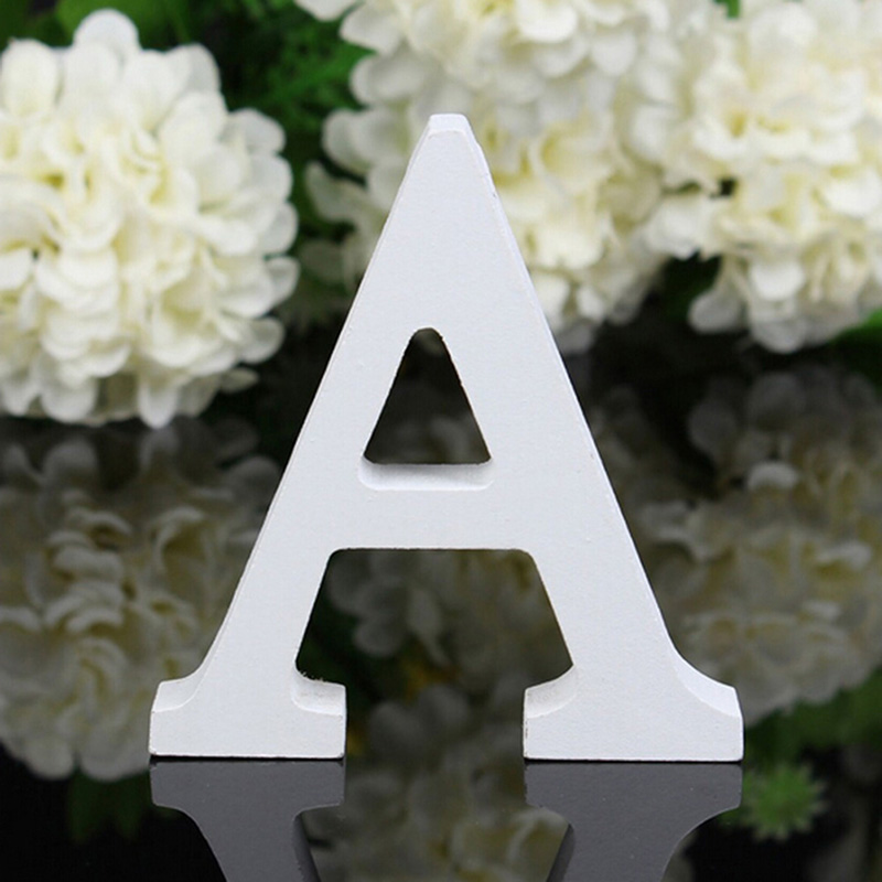 A Z Wooden Letters Wood Letter Free Standing Word Home