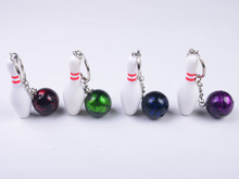B&G Wholesale Price bew style bowling set keychain