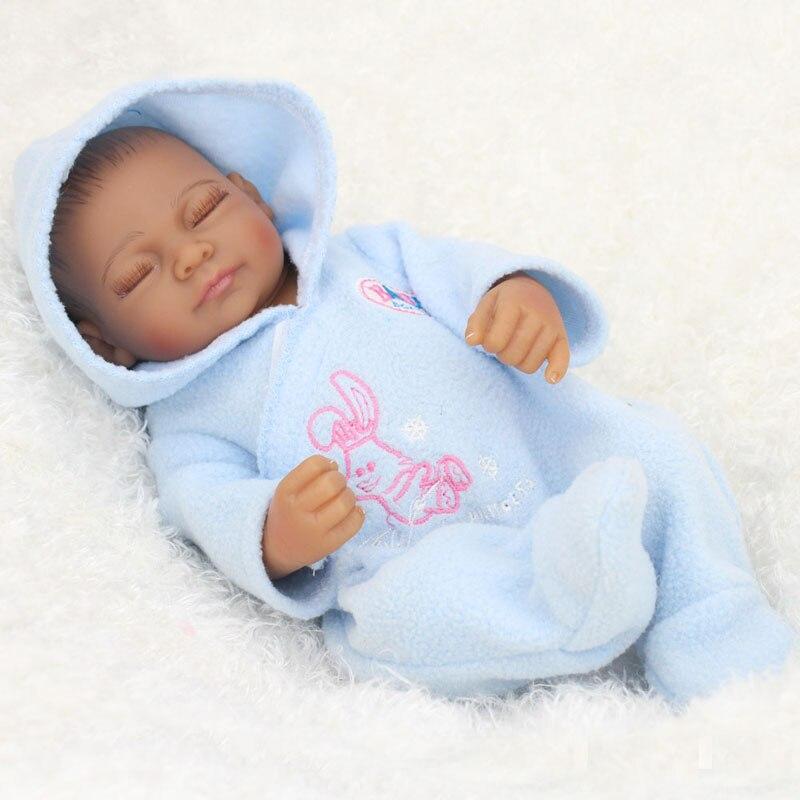 ̿̿̿ •̪ Kawaii 10Inch African American ④ Baby Baby Doll