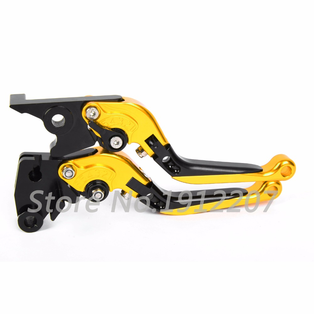 ФОТО For Suzuki GSF 250 Bandit All Years Foldable Extendable Brake Clutch Levers Aluminum Alloy CNC Folding&Extending Levers Hot Sell