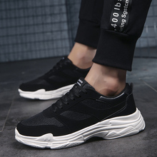 Men Shoes Brand New Fashion Mens Casual shoes 2018 new Breathable Lace Up Mesh Man  5