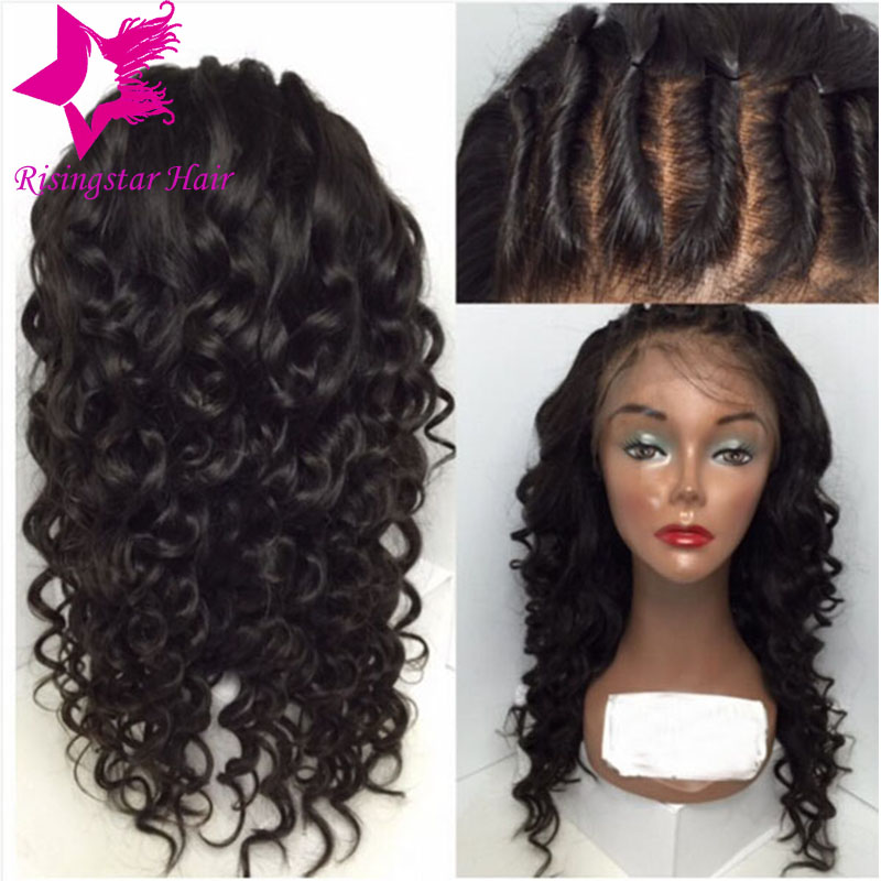 Top wavy lace front wig natural hairline brazilian virgin human hair wavy wig free part glueless full lace wigs for black women игра софтклаб xcom enemy unknown – набор праща