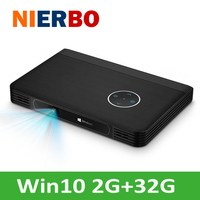 DLP 4K Projector Window10 System Dual WIFI USB HDMI Full HD Projector 1080P Home Cinema Screenless