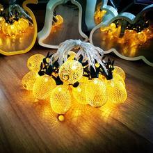 Pineapple LED String Light Hawaiian Party Decor Fairy Lights Tropical Summer Supply Wedding Birthday