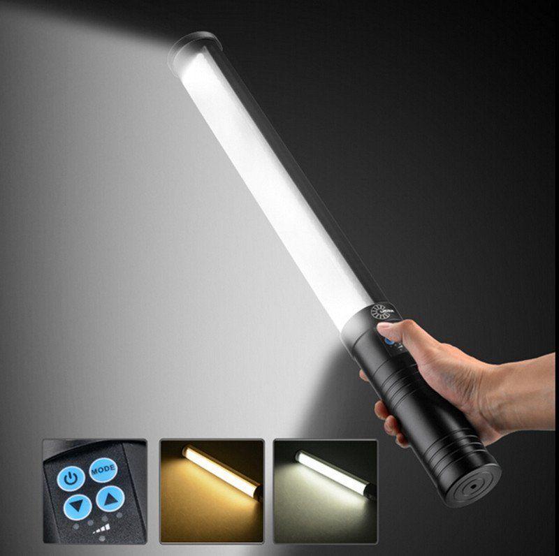 Portátil 516 LED de dos colores con luz regulable, barra de luz con - Cámara y foto
