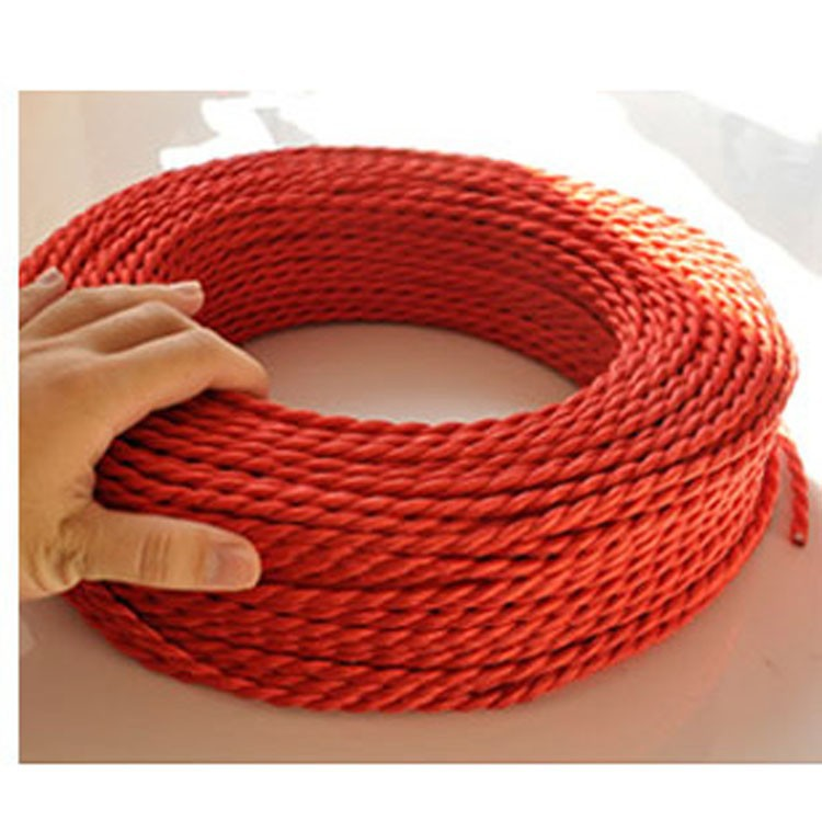 2*0.75mm Vintage Twisted Electrical Wire black Textile Cable ...