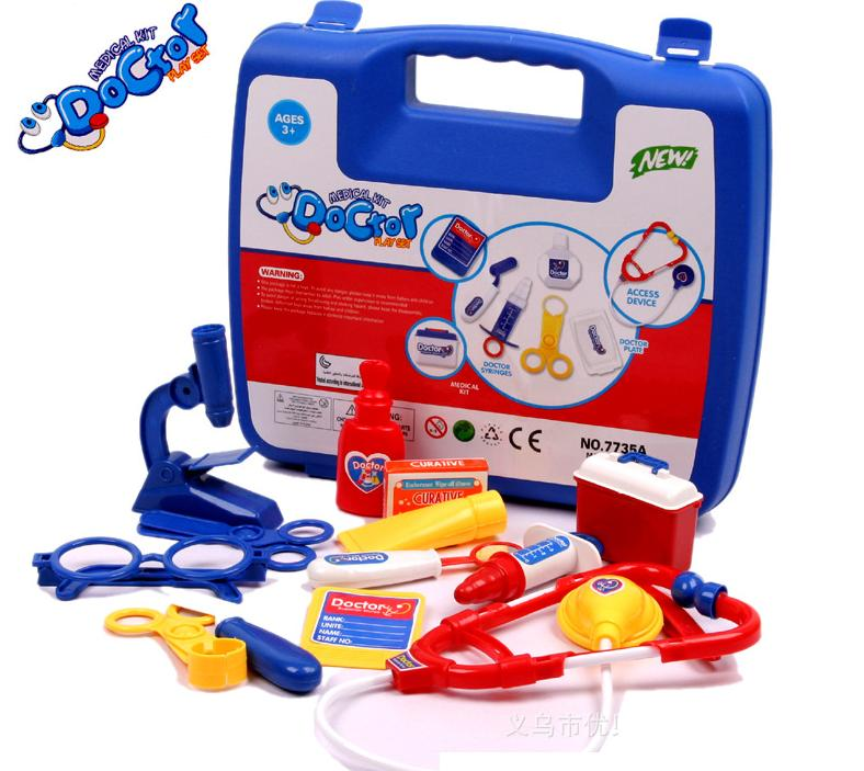 Kids Child pretend play doctors toys/girls and boys doctor nurse games with medicine for interactive parent baby toys ...