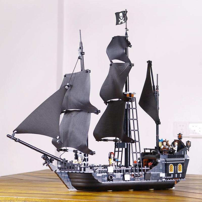 Mylb Pirates of the Caribbean Den svarta pärlemodelluppsättningen Byggsatser Kits Roliga tegelstenar Leksaker för gåva för dropshipping