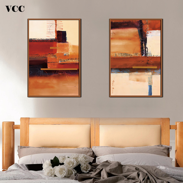 VCC Color Matching PictureWall Art Canvas PaintingPaintings On The