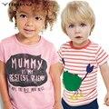 Verão T-shirt Para As Meninas das Crianças T camisa Das Meninas Dos Meninos Tops T Shirt Da Menina do Menino Roupas de Algodão Crianças t-shirt