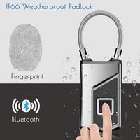 Wireless/Smart Door Lock Keyless Fingerprint Padlock Bluetooth Wifi Biometric/Digital Finger Print Waterproof Electric Locks