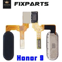 HUAWEI Honor 9 Home Button FingerPrint Touch ID Sensor Flex Cable Ribbon Replacement Parts HUAWEI Honor 9 Button Key Blue фотошторы фернам bellino home page 9