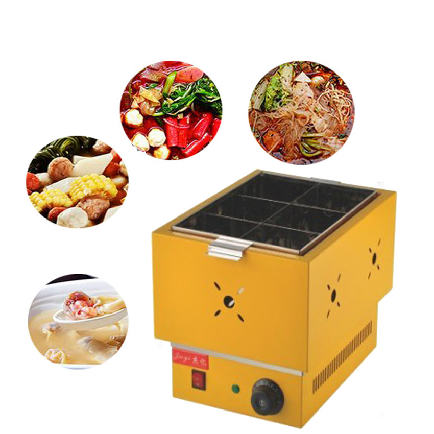 1pc Commercial thickened FY-11B  electric Kanto cooking Mala Tang machine Snack equipment cooking pot