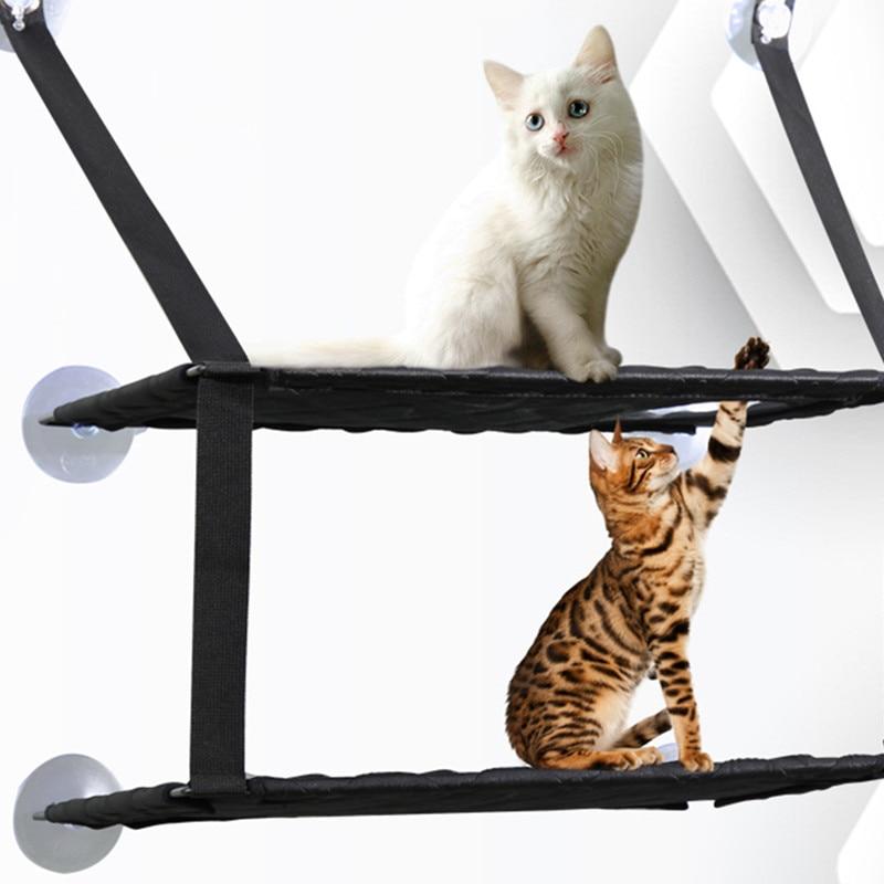Pet Supplies Cat Hammock Window Bed Pet House Circular Cat Litter Kedi Evi Suntan Hammock Cat Toy