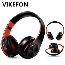 5.0 Bluetooth Earphone HIFI Strong Bass Stereo Wireless Headphones Gaming Headset with Mic/TF Card/FM for Phone Tablet Handsfree