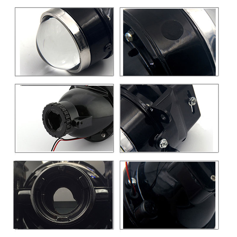 ROYALIN For Nissan Fog Lights Lens Car G2 Bi xenon H11 D2S Projector 3 0 quot Full Metal Halogen Fog Lamp High and Low Beam Retrofit in Car Light Accessories from Automobiles amp Motorcycles