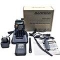 BAOFENG New Dual Band Amador Handheld Rádio Em Dois Sentidos UV-5RE Plus UHF/VHF 128 Canais FM Ham walkie talkie transceptor Fone de Ouvido