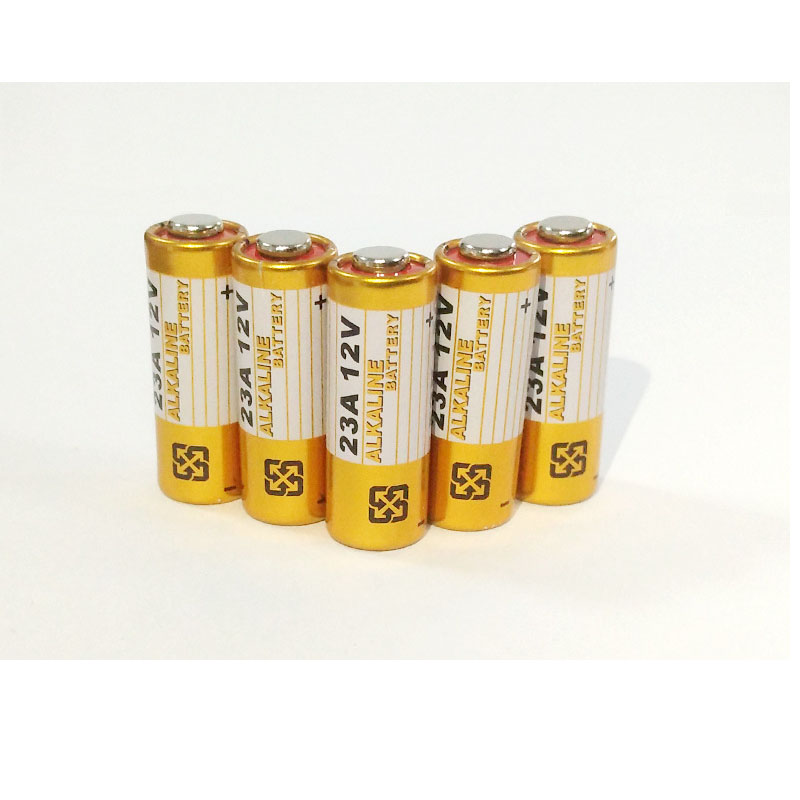 Cncool 5pcs Alkaline battery 12V 23A battery 12V 27A 23A <font><b>12</b></font> V 21/<font><b>23</b></font> A23 E23A MN21 RC control remote controller battery RC Part image