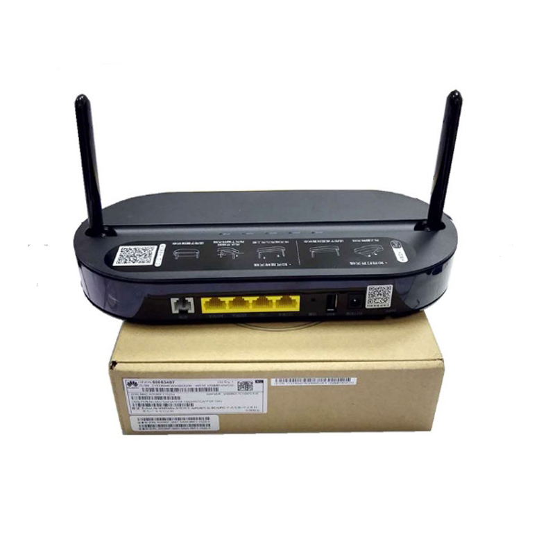 Original HUA WEI HS8145V 4GE + 1 voip + double bande WIFI Ftth wifi Gpon ONU terminaison routeur réseau à fibre optique micrologiciel anglais