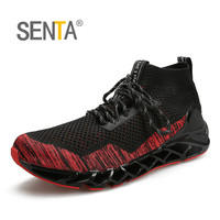 2018 Blade Running Shoes Men S Professional Athletic Sneakers Super Breathable Sport Walking Trendy Cushioning Athletic