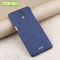 Oneplus 3 Tempered Glass Leather Case Mofi Original Accessories For Oneplus3 Protective Frosted Cover Ultra Thin