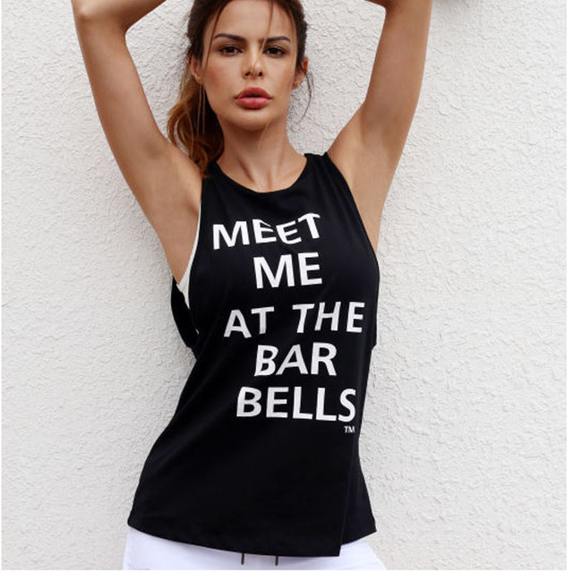 Sexy Sleeveless  Workout T Shirt
