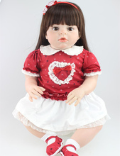 28 inch big Toddler Reborn lovely baby high quality collection doll