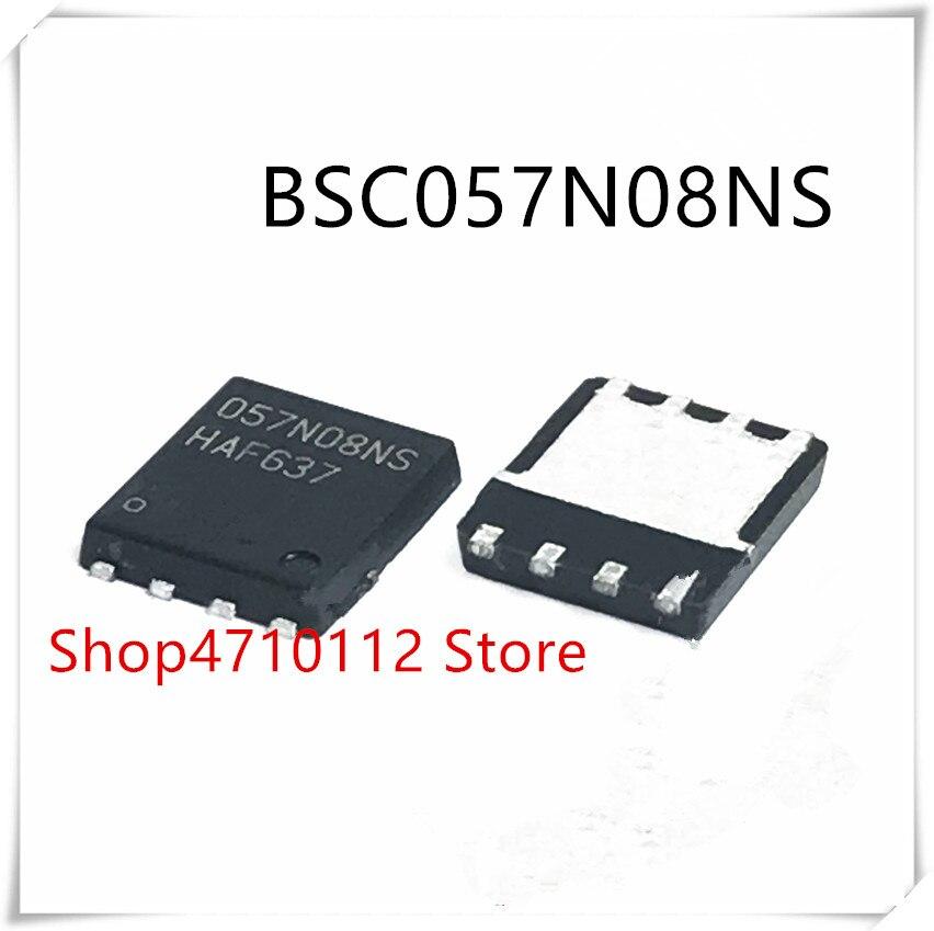 NEW 10PCS/LOT BSC057N08NS BSC057N08 MARKING 057N08NS TQFN-8 IC