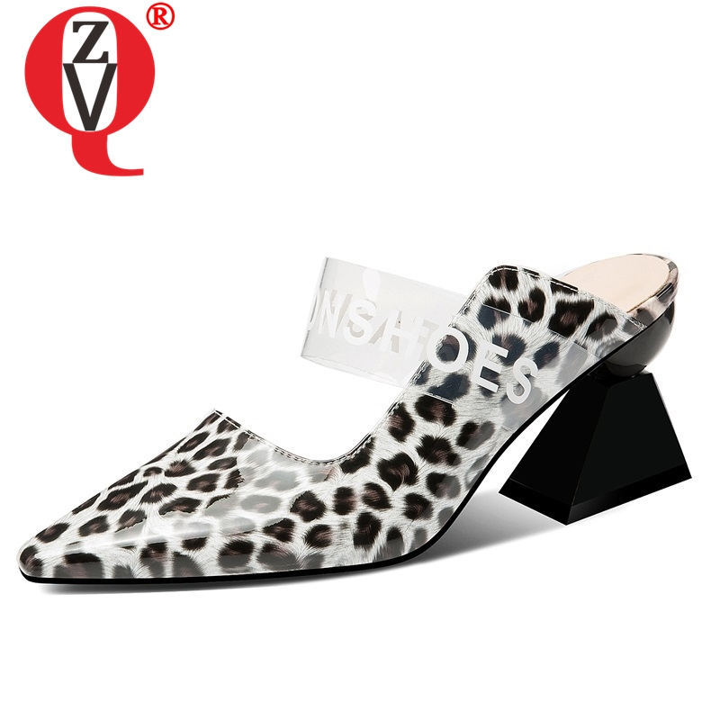 ZVQ <font><b>hot</b></font> <font><b>sale</b></font> woman shoes <font><b>summer</b></font> new fashion <font><b>sexy</b></font> high strange <font><b>style</b></font> woman slippers outdoor shallow mixed colors ladies shoes image