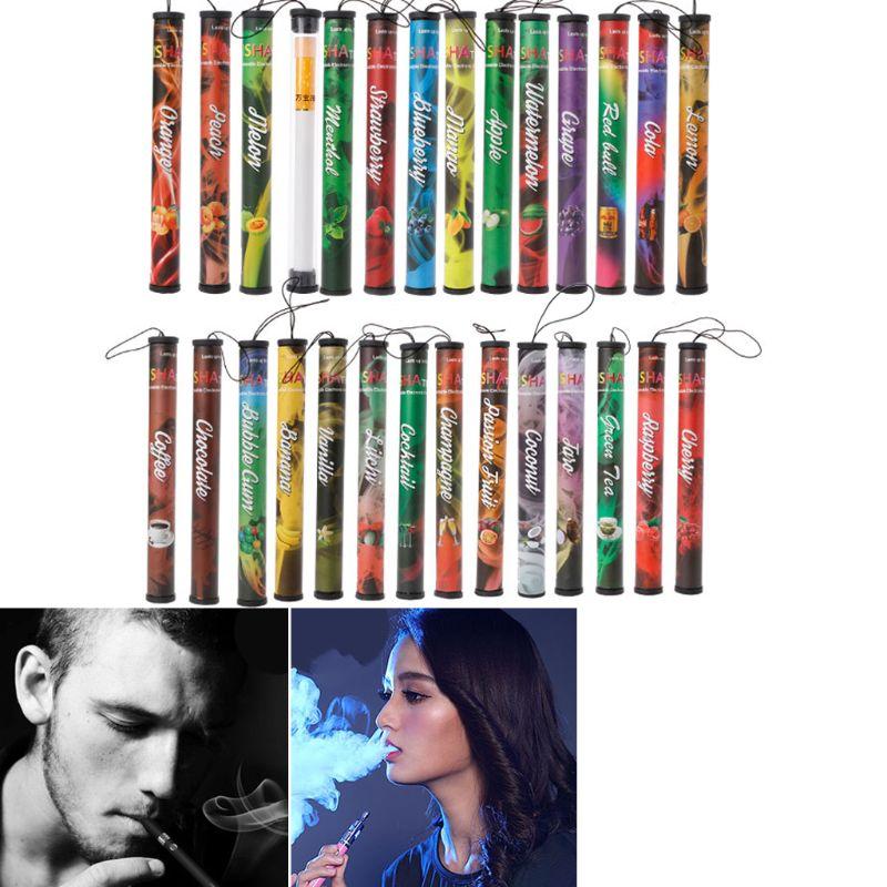 Portable Fruits Flavor Disposable E Cigarette 500 Puffs Disposable Hookah Shisha Vaporizer Pod Vape Stick Pen