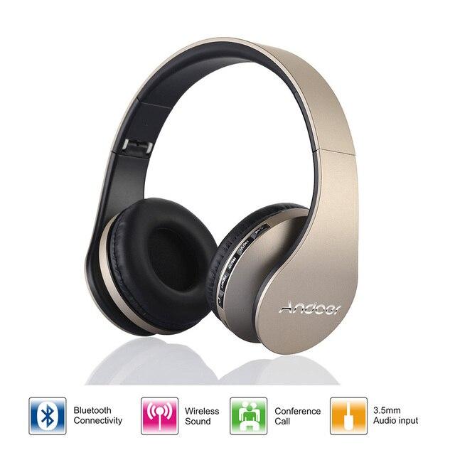 4 in 1 Cuffia Bluetooth Stereo Pieghevole Senza Fili di Bluetooth 3.0 + EDR  Auricolare   3808a0364aee